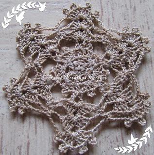 crochet doily, crochet sun catcher