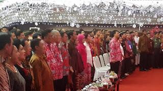 Panglima TNI Hadiri Puncak Perayaan Natal Nasional di Minahasa