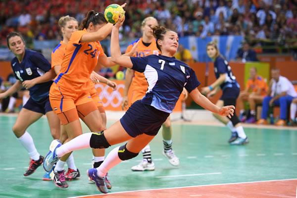 Rocio Campigli Handball Argentina Rio2016