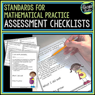 Student self-assessment, standards for mathematical practice, assessment strategies, formmative assessment, classroom culture, teaching math, grade 3, grade 4, grade 5, anchor chart, math assessment