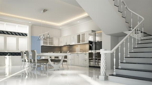 Putih adalah kemurnian dan tanpa kompromi dan menunjukkan kesan bersih, higienis, dan steril.