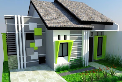 Warna Cat Dinding Luar Rumah Yang Cerah 5