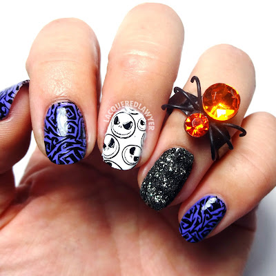 Lacquered Lawyer Nail Art Blog Jack Skellington