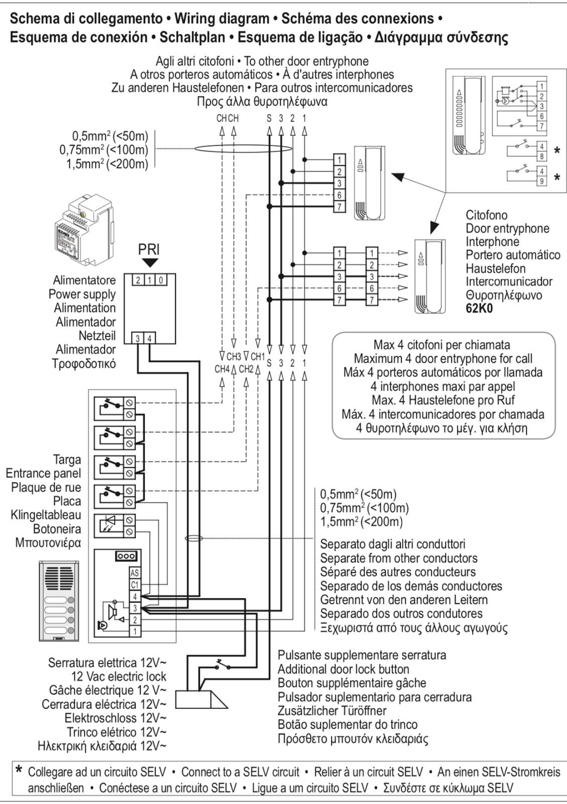 Pleasing Elvox Lcd Video Door Entry Kit 3 Years Warranty Al Barq Wiring Digital Resources Honesemecshebarightsorg