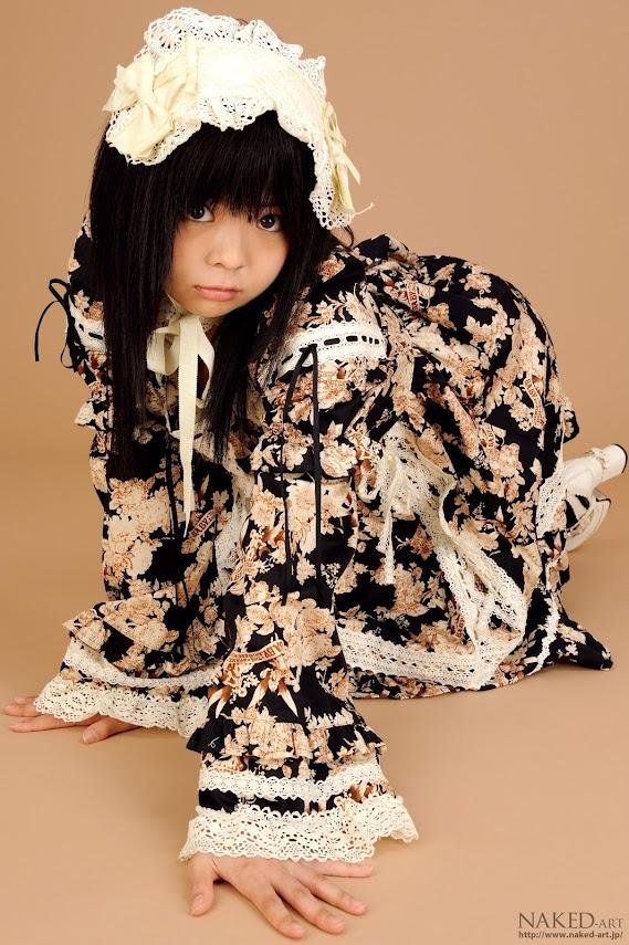 Naked-Art No.00106 Chiwa Ohsaki 大崎ちわ naked-art 09170