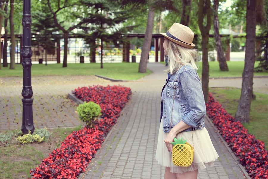 ananas, moda, brilu, brilupl, kapelusz, tiulówka, zaful,