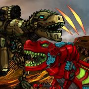 Dino Robot Battle Arena : Dinosaur game Unlimited Coins MOD APK