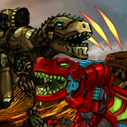 Dino Robot Battle Arena : Dinosaur game Unlimited Coins MOD APK