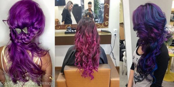 Cool Gorgeous Purple Hairstyles Short Hairstyles Gunalazisus