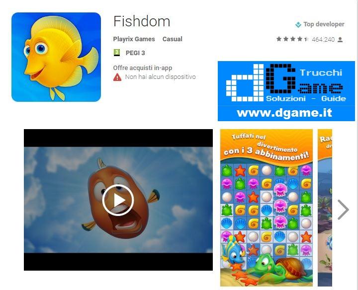 Soluzioni Fishdom livello 111 112 113 114 115 116 117 118 119 120   Trucchi e Walkthrough level