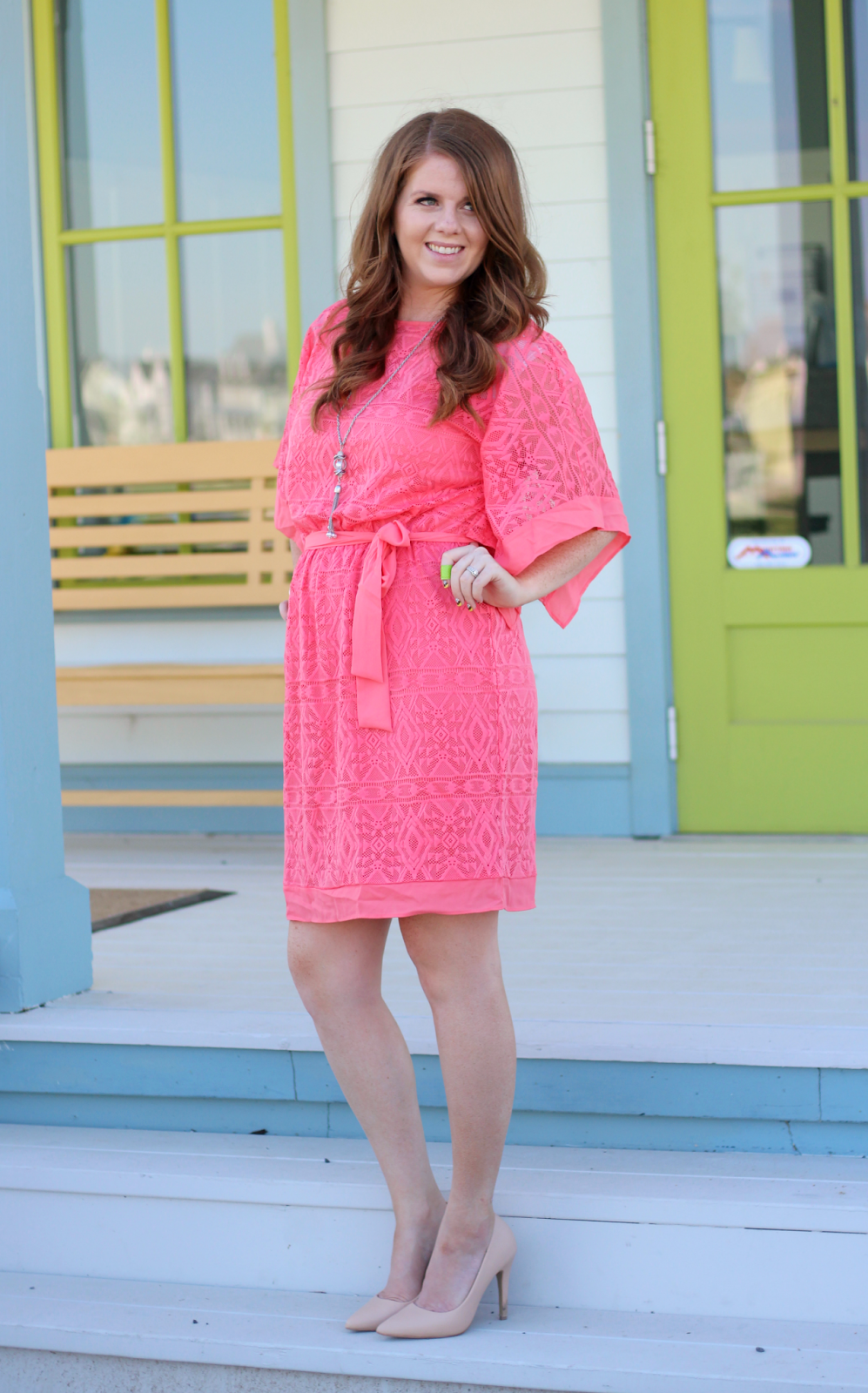 Modest summer dress