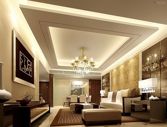 Simple False Ceiling Designs For Hall And Living Room