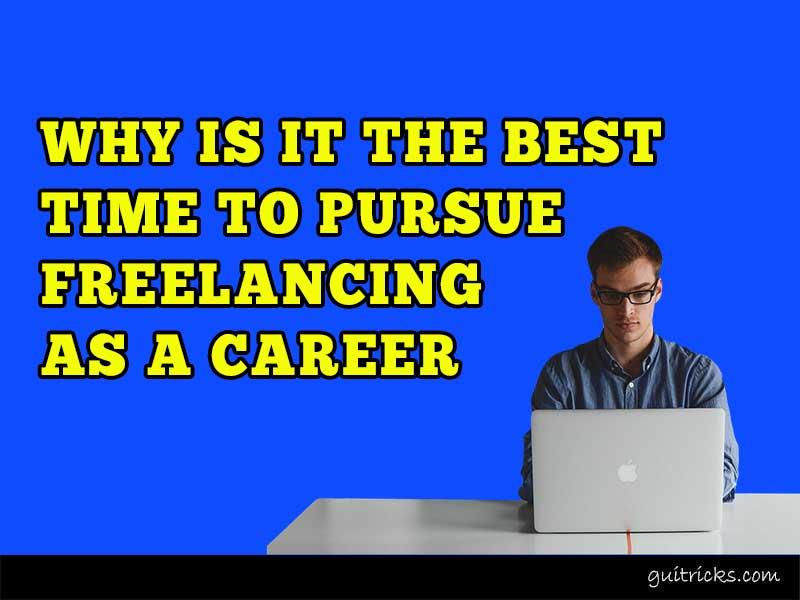Pursue Freelancing As A Career