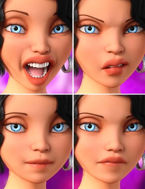 Girl 7 Expressive