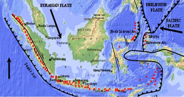 keuntungan letak geologis Indonesia