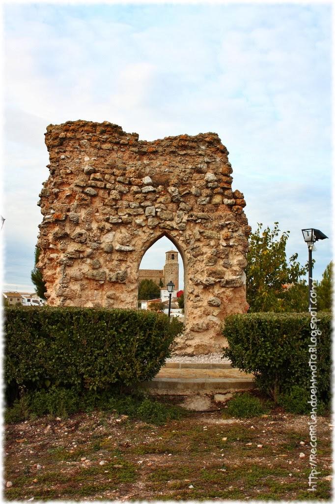 Restos muralla C. Garcimuñoz