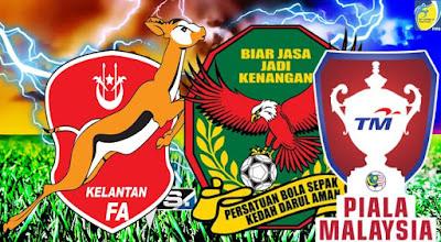 Live Streaming Kedah vs Kelantan Piala Malaysia 5 Ogos 2018