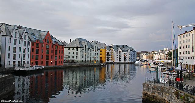 Alesund, Norvège du sud