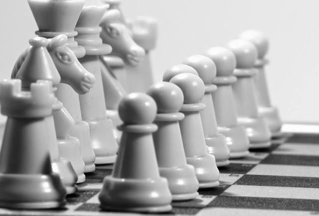 ajedrez piezas blancas