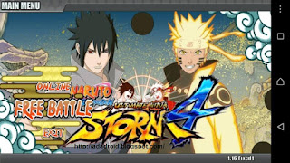 Download Naruto Senki Ultimate Ninja Storm 4 By BAL Apk