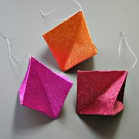 Geometric Origami Ornaments