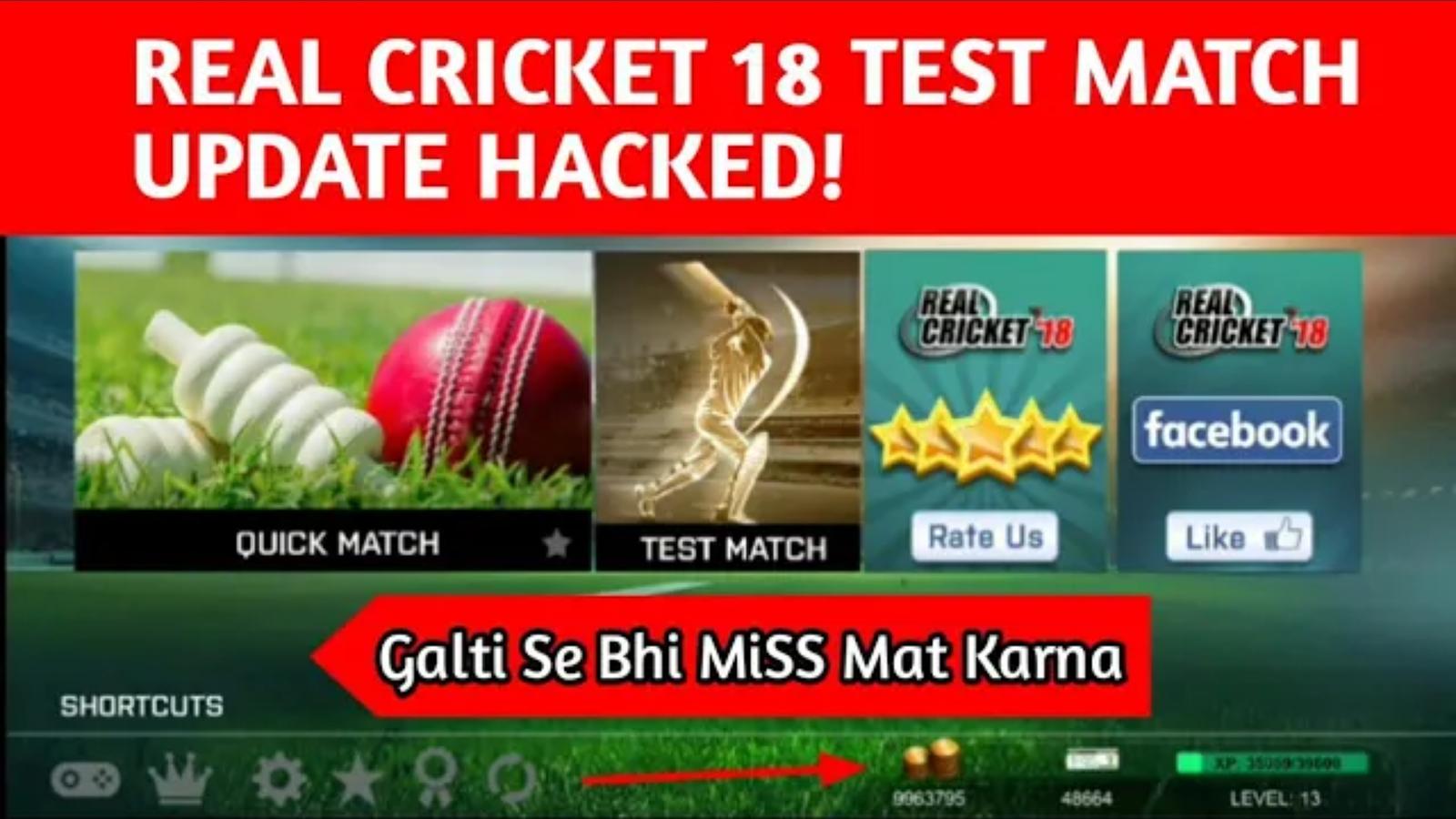 real cricket mod apk v 1.9