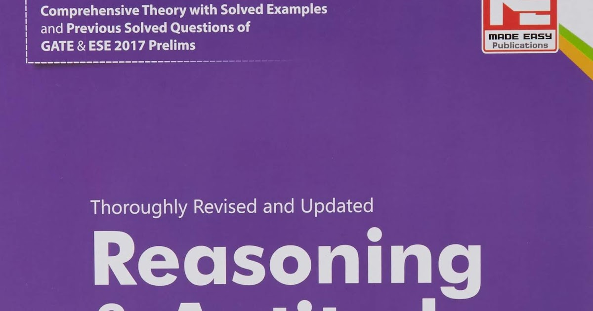 Made Easy Aptitude And Reasoning Book Pdf