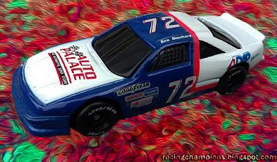 Ken Bouchard #72 Auto Palace Racing Champions 1/64 NASCAR diecast blog Ron