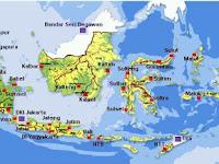 Inilah 34 Provinsi di Indonesia dan Ibukotanya