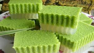 Cara membuat Kue AGAR-AGAR SANTAN PANDAN Untuk Berbuka Puasa