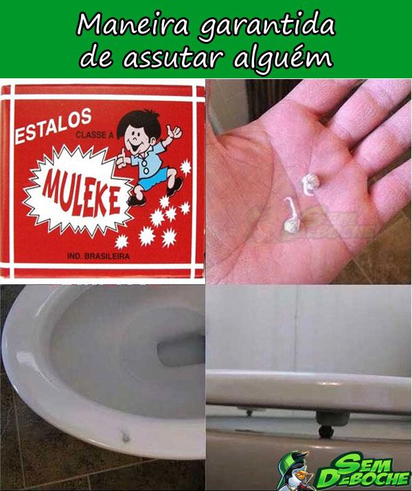 MANEIRA GARANTIDA DE ASSUSTAR ALGUÉM