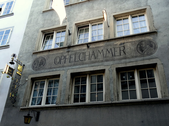 Opfelchammer Niederdorf Quarter  Zurich Old Town