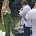 Eliana grava na casa de Hebe Camargo para sua volta à TV; confira fotos