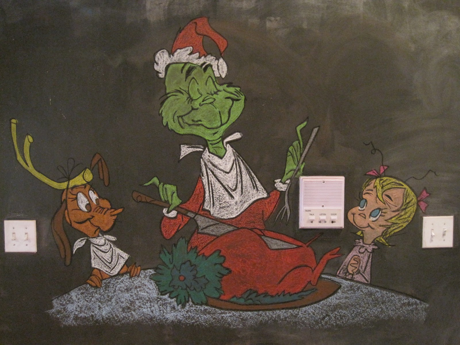 After Yesterdays Debacle I Knew Had To Up My Game With Something Good And Im Happy Bring What Is So Far Favorite Muralcle How The Grinch