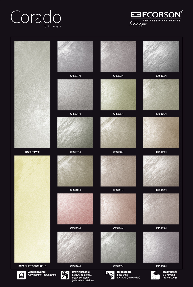 farby strukturalne wzory