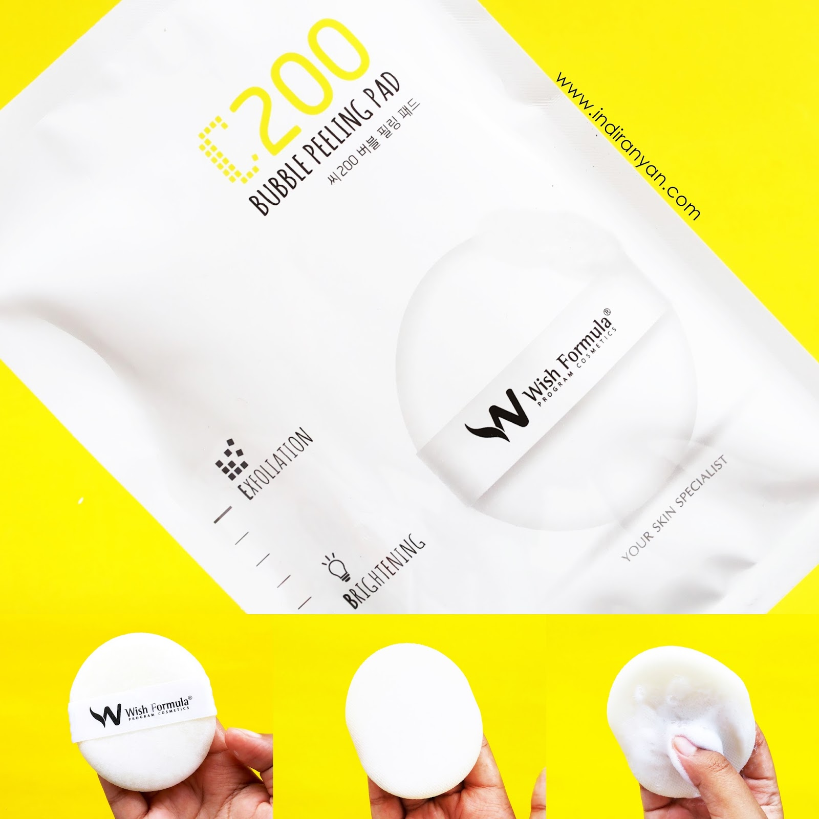 wish-formula-c200-bubble-peeling-pad, review-wish-formula-c200-bubble-peeling-pad