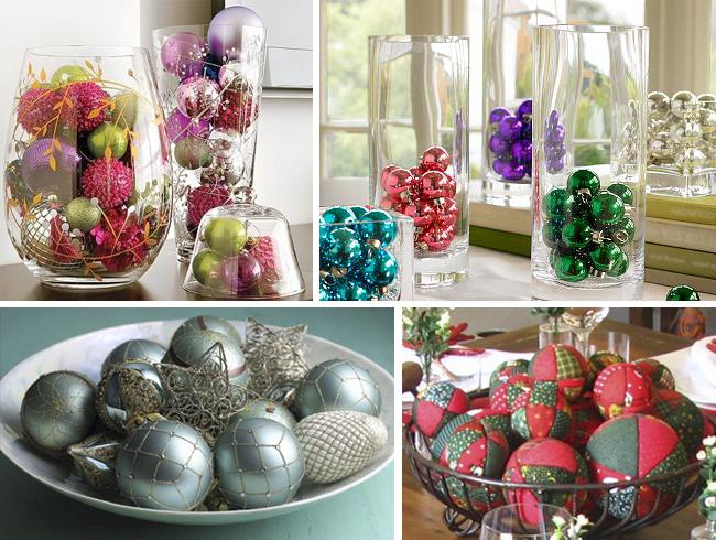Resultado de imagem para bolas na mesa de natal