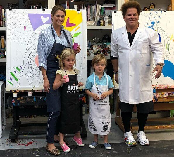Romero Britto's workshop at Wynwood Walls & Art District in Miami