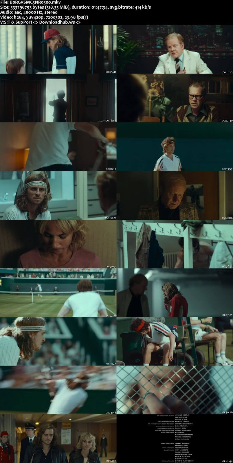 Borg vs. McEnroe 2017 English 480p Web-DL
