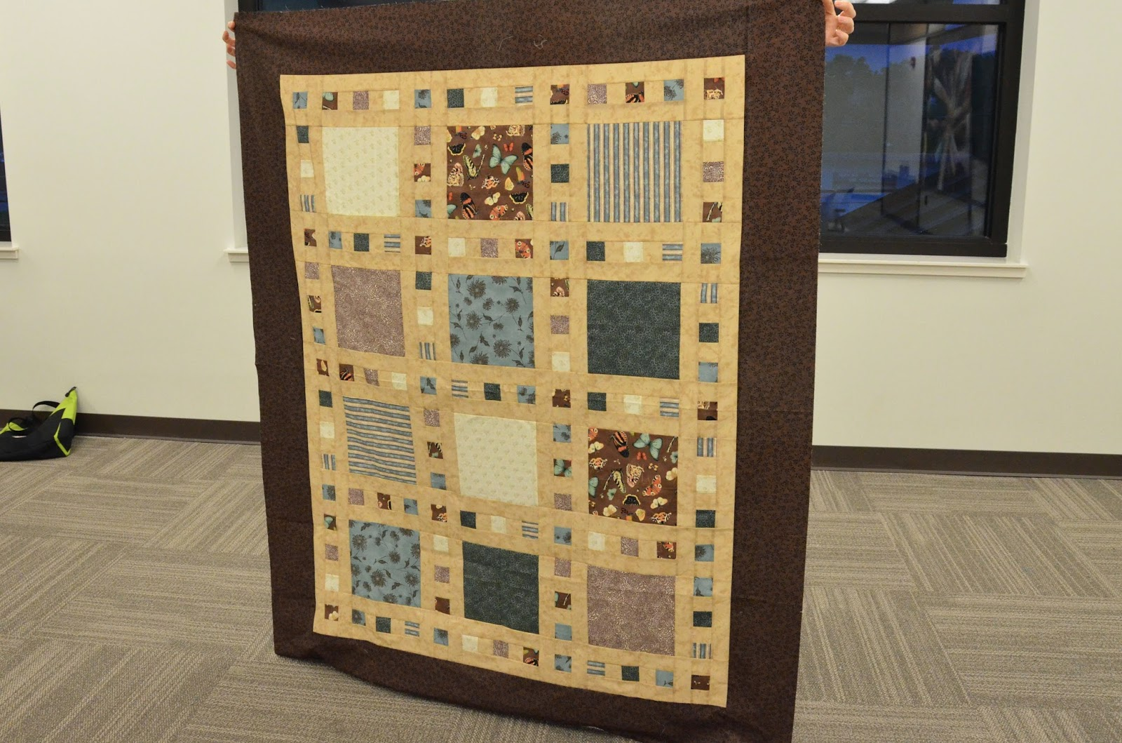 183 Pat Shared With Us Her First 3 Quilts She Hasmade In
