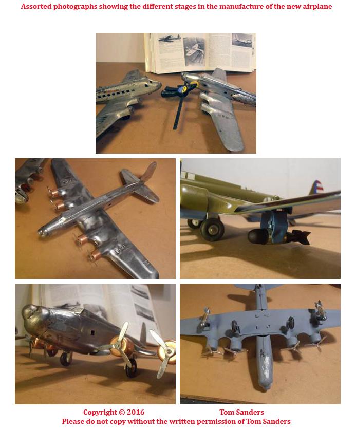 Old Antique Toys: Tom Sanders- Exceptional Model Rebuilder