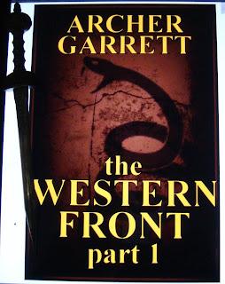 Portada del libro The Western Front, de Archer Garrett