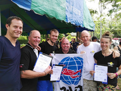 PADI IE for December 2016 on Phuket, Thailand was very successful
