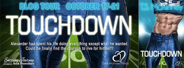 Blog Tour: Exclusive Excerpt & Giveaway TS McKinney - TOUCHDOWN