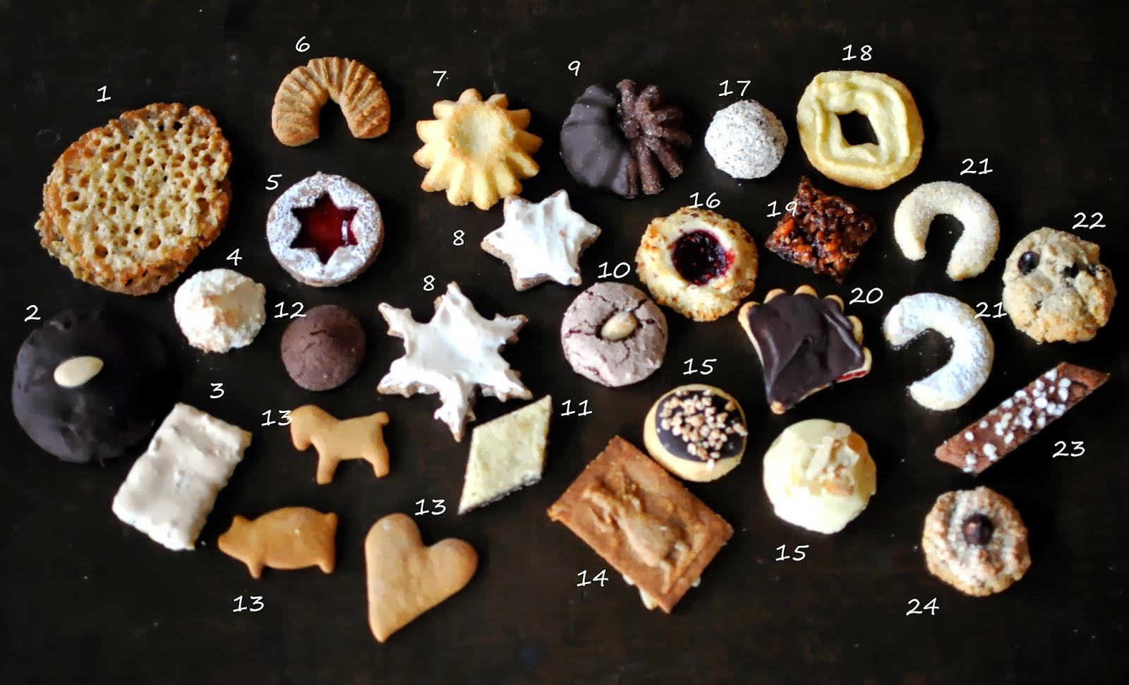 Confirm. All Austrian christmas cookies