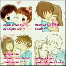 Download 760  Gambar Animasi Romantis Buat Dp Bbm HD Free Downloads