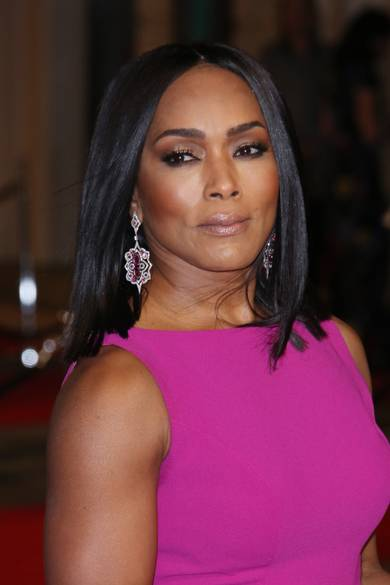 BAFTA AWARDS 2016, , diamond earrings, drop earrings,Angela Bassett, Maxior Joias