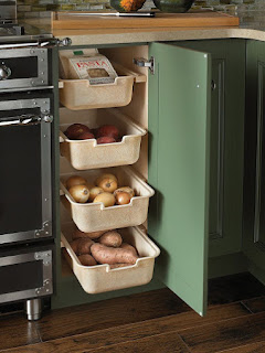kitchen corner pull out drawers