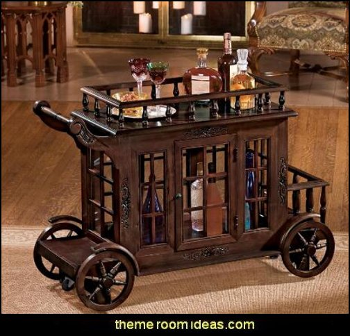 Manor Cordial Carriage  man cave decorating ideas - man cave decorating pictures - man cave decor - home bar decor - wine decor - beer decor - sports bar decor - big boys bedrooms - Wine Barrel furniture - man cave decorations - personalized man cave decor