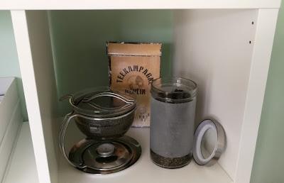 Teezubereitung im Büro